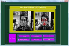 Gaze Analysis Based Face Detection